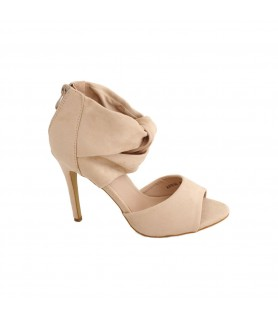 Pantofi R's, Beige,...